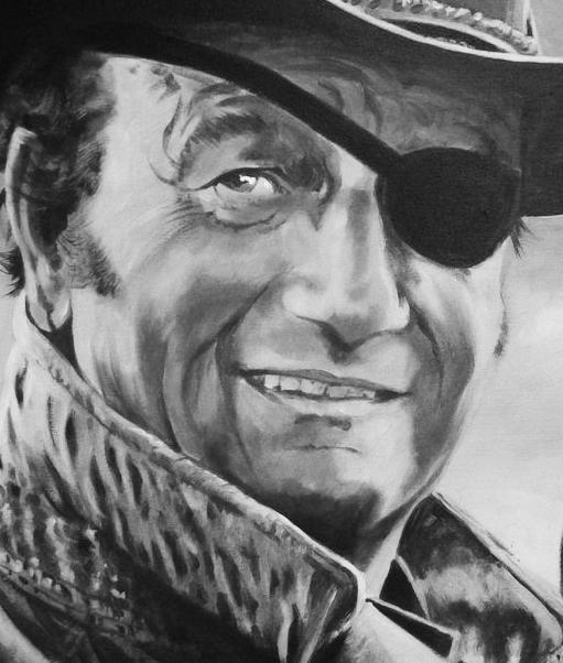 John Wayne por Tom-Heyburn